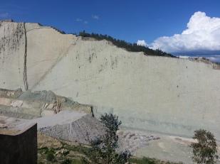 The wall of Cal Orko