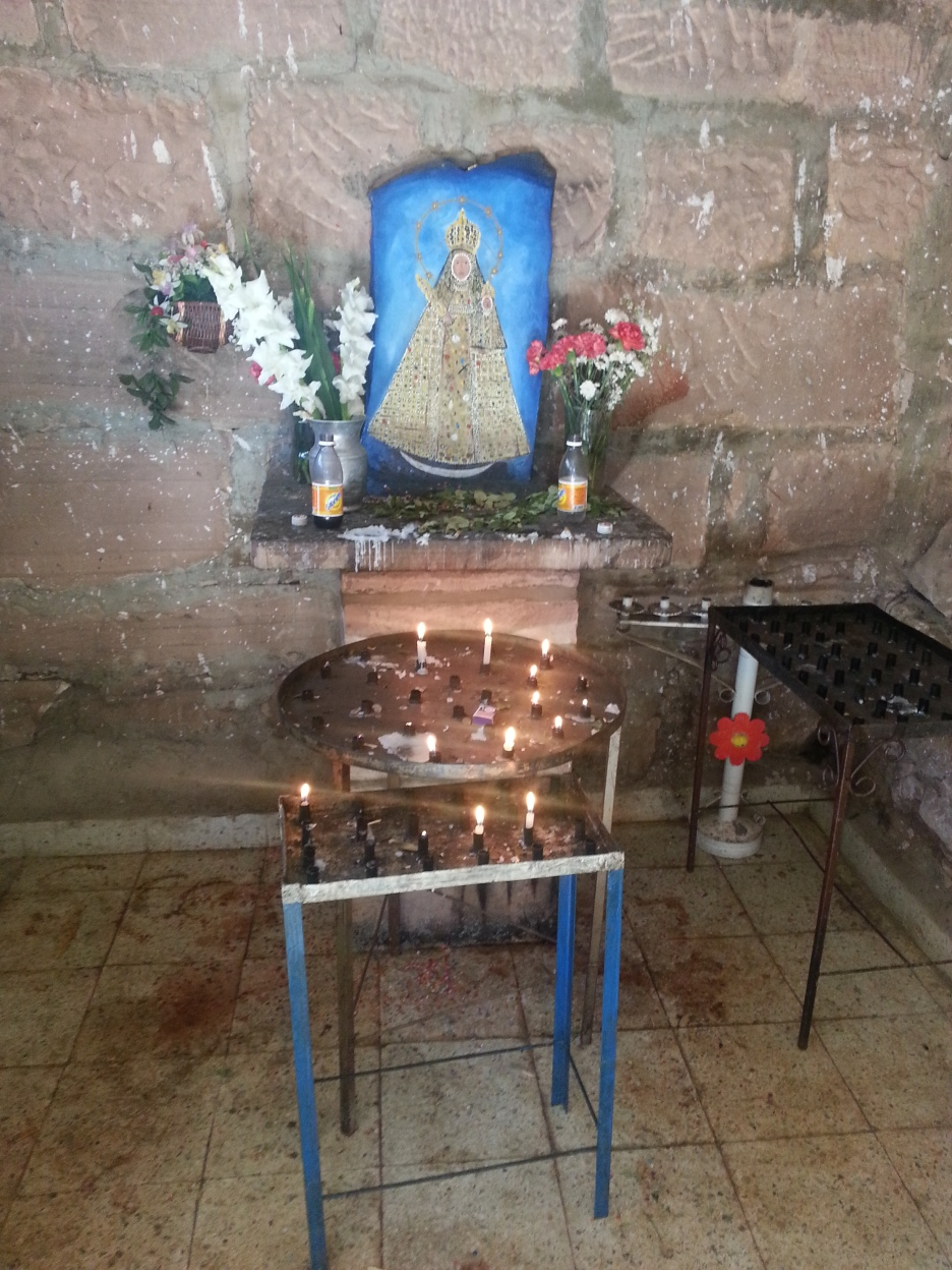 The small altar at Chataquila