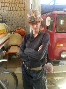Ruth as a miner: badass