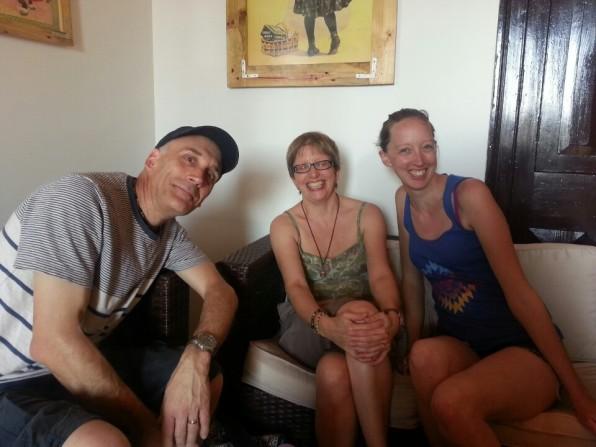 Sharing Chaqchao with Ian & Susan