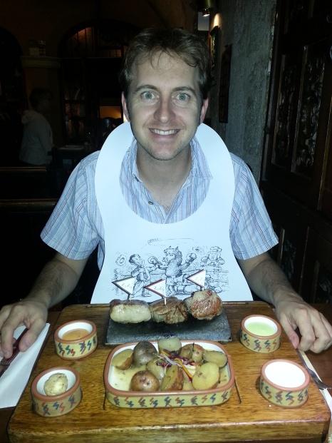 My trilogy of meats! Beef, Pork & Alpaca