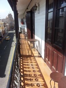 Beautiful sunshine terrace
