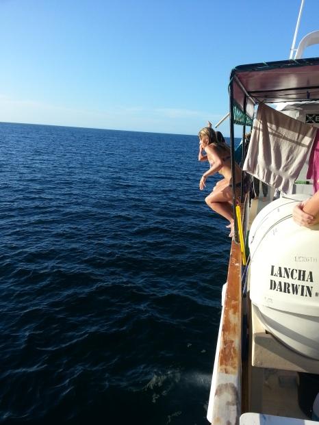 Boat diving - Lisa & Katrin